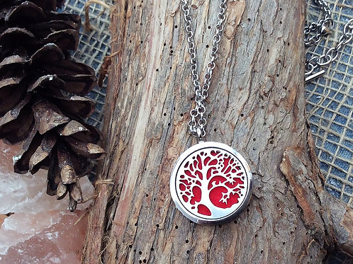 Willow Tree Stainless Steel Pendant
