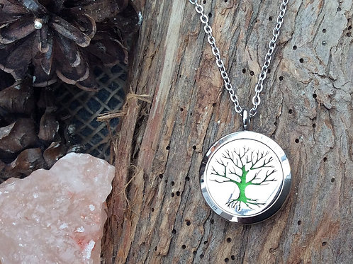 Small Tree of Life Stainless Steel Pendant