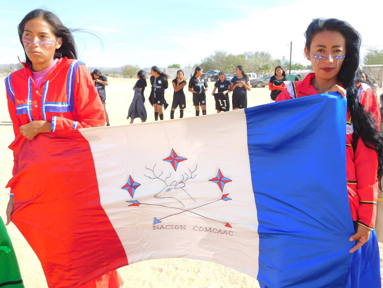 Seris Indian Reservation Flag