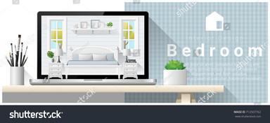 stock-vector-modern-bedroom-interior-des