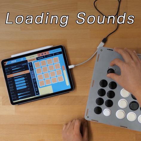 Loading Sounds in RhythmoLab