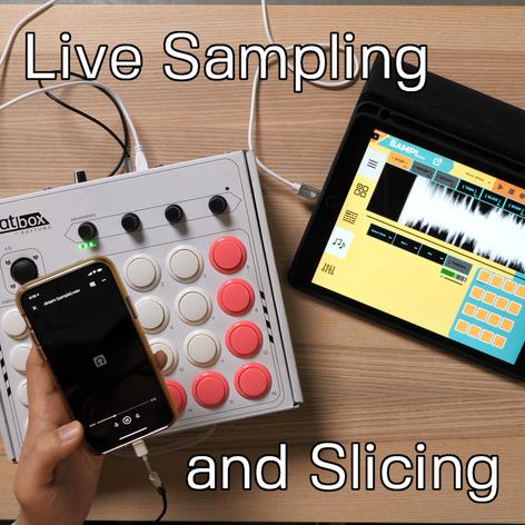 Live Sampling and Slicing