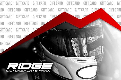 RIDGE GIFT CARD - $75.00