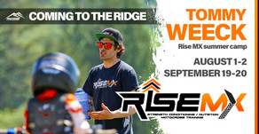 RISE MX VISITS THE RIDGE