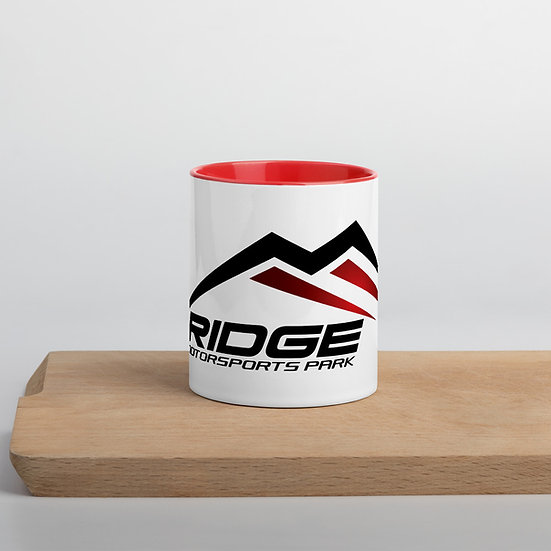 Ridge Mug with Color Inside