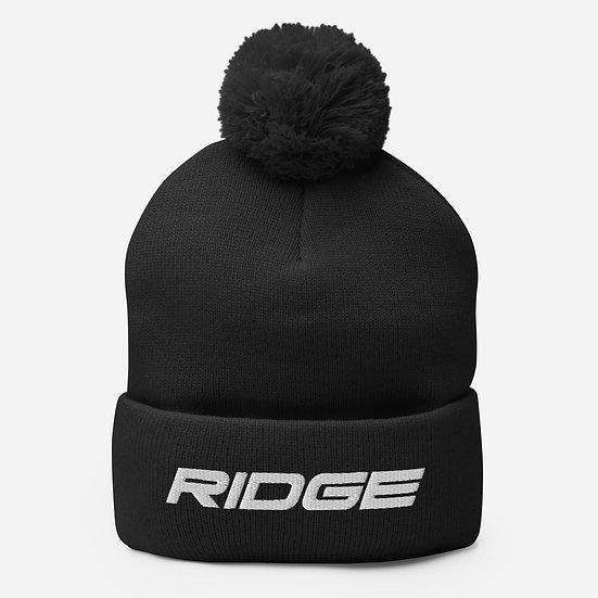 Ridge Pom-Pom Beanie