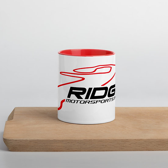 Ridge Track Mug with Color Inside