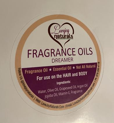 Dreamer' fragrance oil