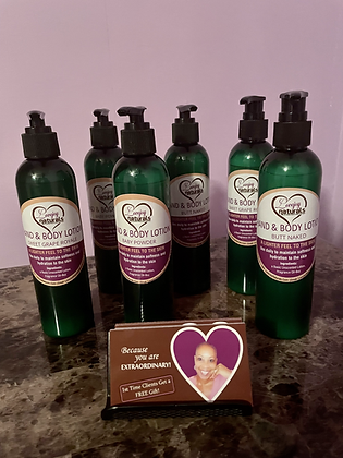 Hand and Body lotion--Sweet Grape scent-8oz.