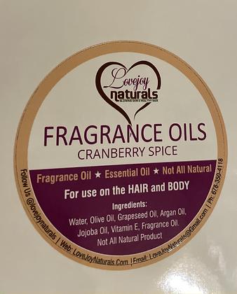 Cranberry Spice face/body scrub-8oz