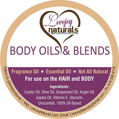 8 0z.Potion Of 'LOVE'  hair/body soother