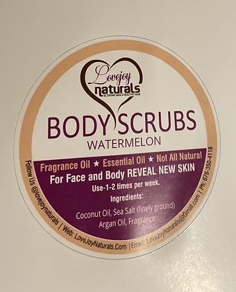 WATERMELON face/body scrub-8oz.