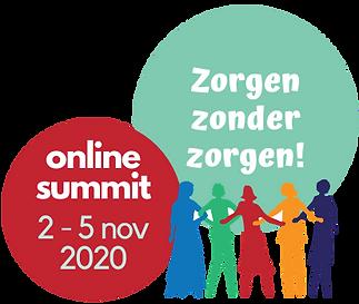 logo online summit zorgen zonder zorgen.