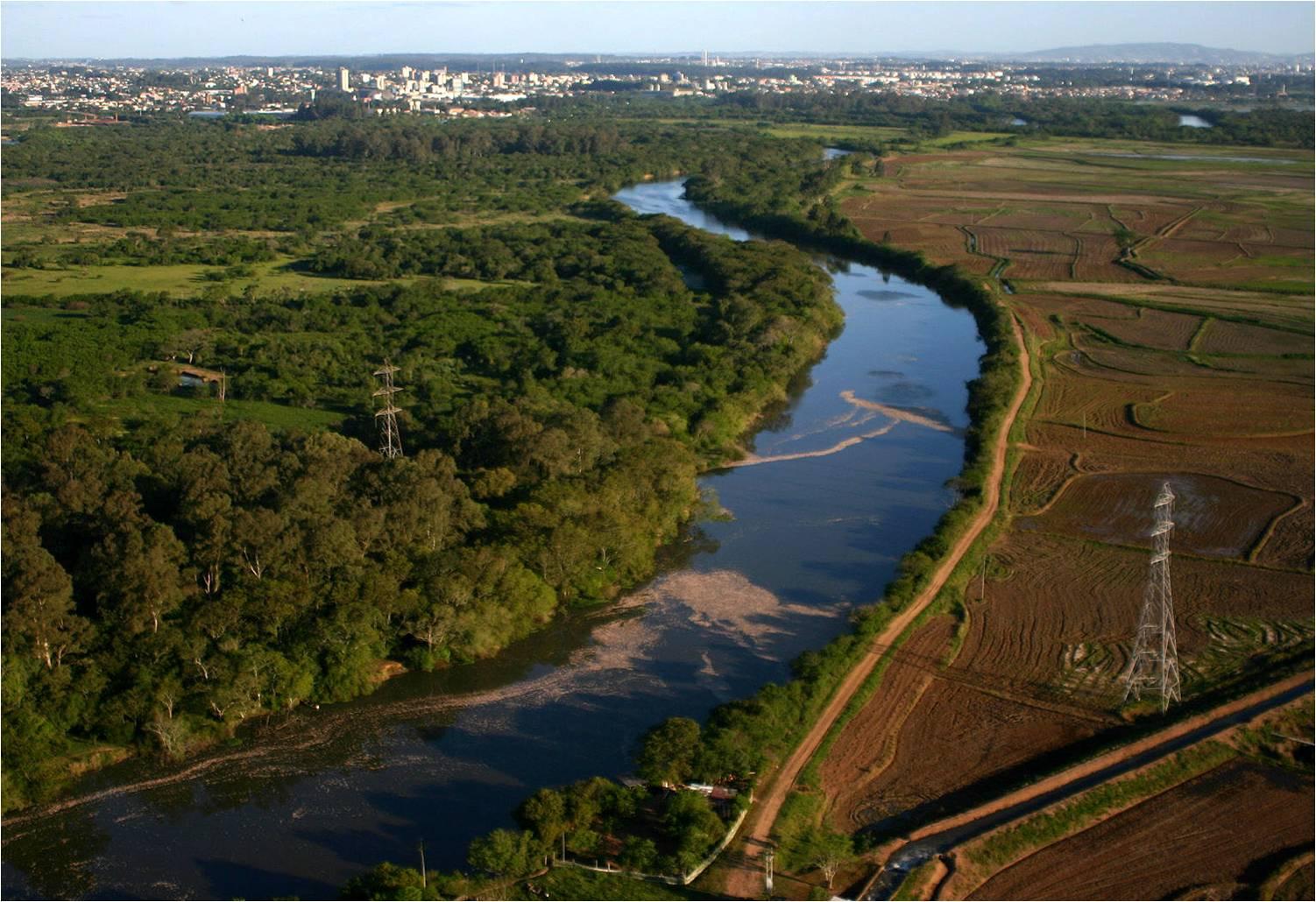 Evento em defesa do rio dos Sinos