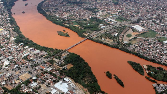 O Rio Doce, em ação inédita