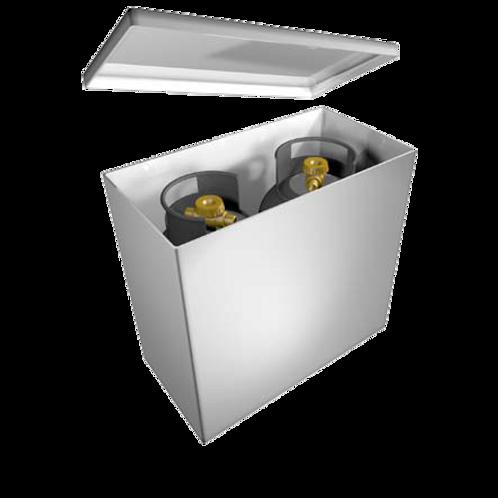 6 kg / 7 kg Twin Gas Cylinder Locker
