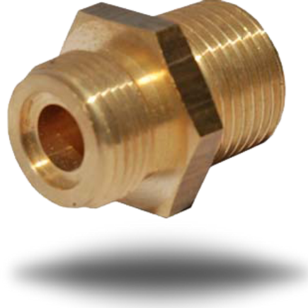 4023 3/8 inch Male BSPT to M20 Connector
