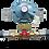 Thumbnail: GasBOAT 4408/R Marine Gas Regulator with Manual Changeover Kit