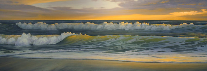 Bethany Beach wave study at Sunrise