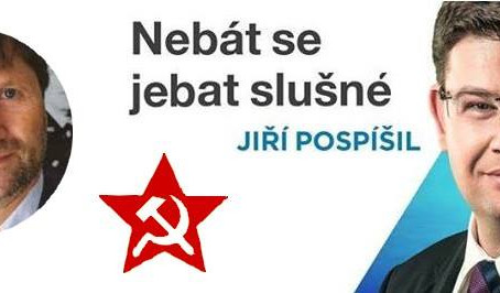"""""""Komunismus je ostuda lidstva."""" A Jiří Pospíšil není?"""