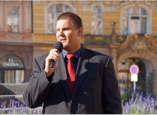 Projev P.K. na nedělní demonstraci na Staroměstském náměstí