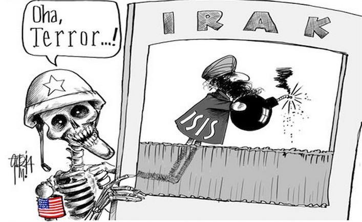 spolupráce Usa a Isis