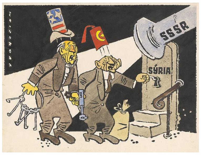 Jakoby náhodou se tak začal plnit scénář, který již dávno předpověděli autoři slovenského satirického časopisu Roháč   již v roce 1958
