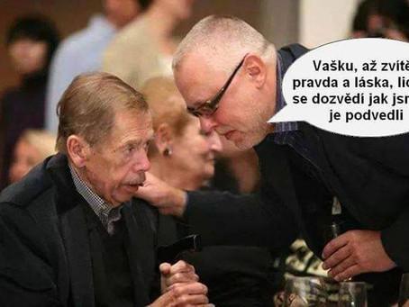 Prohnilé srdce Václava Havla