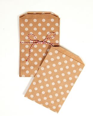 Polka Dot Envelopes