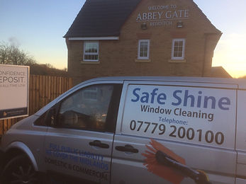 Safeshine Window Cleaning | New Build Estate | Redditch