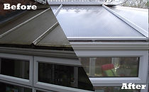 Conservatory roof cleaning in Wolverhampton, Stourbridge & West Midlands