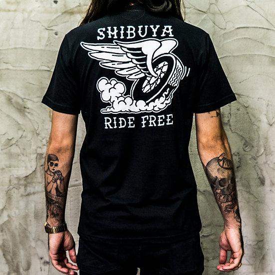 Camiseta Wheel Shibuya
