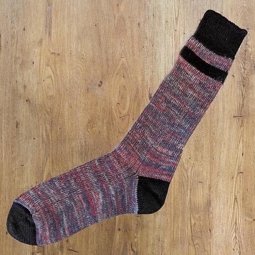 Soup Socks: Monk Black Top