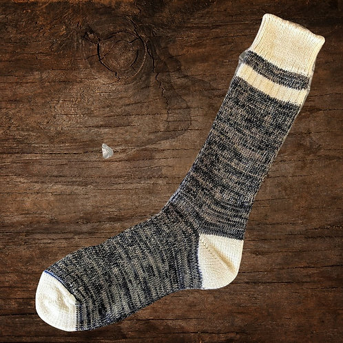 Soup Socks: Monk Cream Top TB