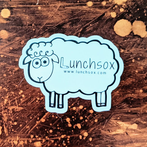 Sheep Die-cut Sticker