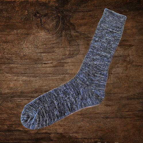 Soup Socks: Blue Denim