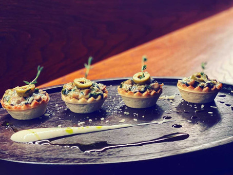 MUSHROOM AND SPINACH TART BY CHEF ASHISH