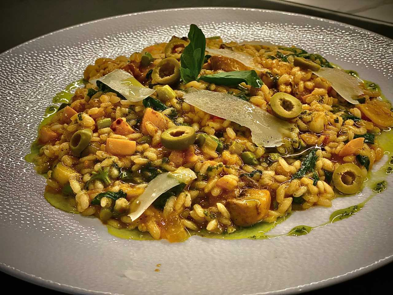 KALE & ARAGULA VEGETABLE RISOTTO | BY CHEF ASHISH