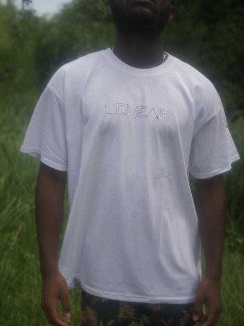 Love A.M. White T-Shirt