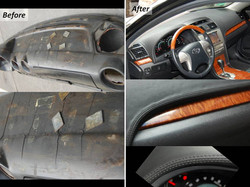 Repair of Cracked Dashboard