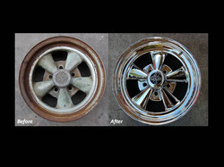 Restored and Customized to Chrome Plating Process