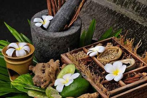 Sauna ou hammam et gommage aux sels (5 séances)