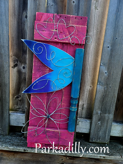 Upcycled Flutterby