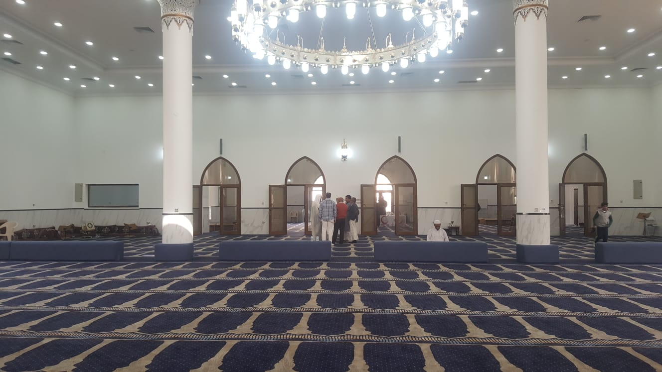 Inside of Masjid Al Mutawa