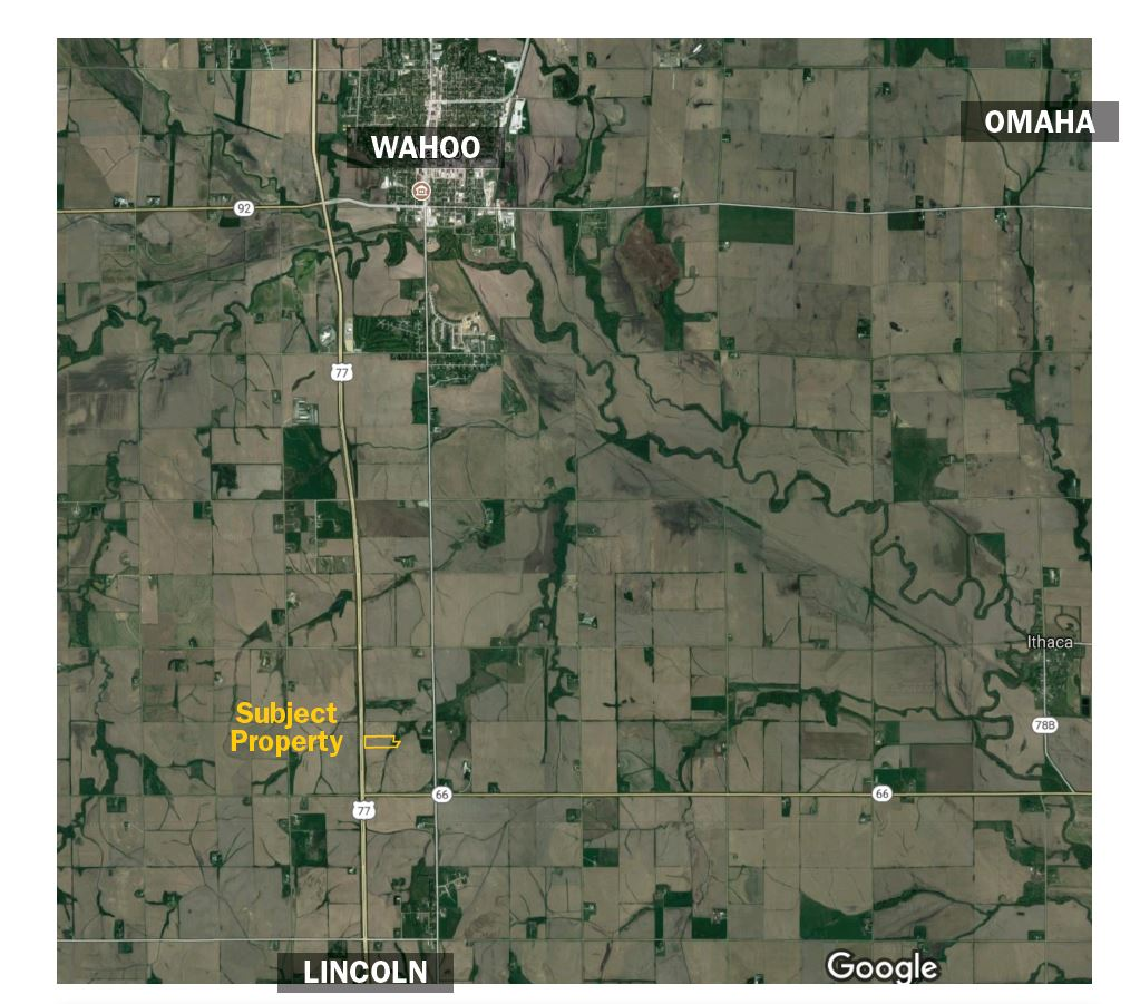 Map of Wahoo, NE Property