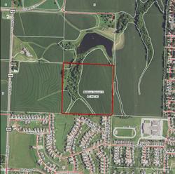 Bellevue, NE Aerial Map