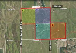 Sherman County Property Map