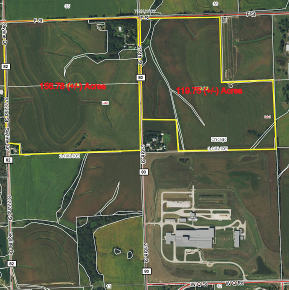 Map of Elkhorn, NE Property