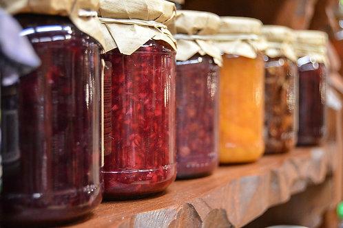 Homemade Jams, Jellies & Preserves