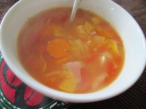 Frozen Vegetable Soup - 1lt